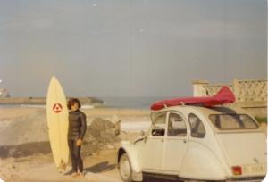 Julio del Vall. Archivo: Surf Clasicc Surf El Pasillo