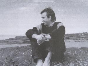 Javier Arteche en 1990. Foto: Álvaro Ondain.