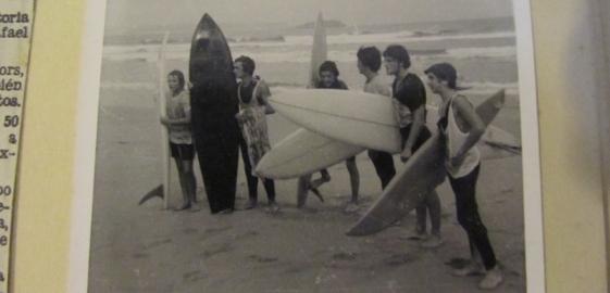 Archivo de Zalo. Campeonato en Somo, años 70.