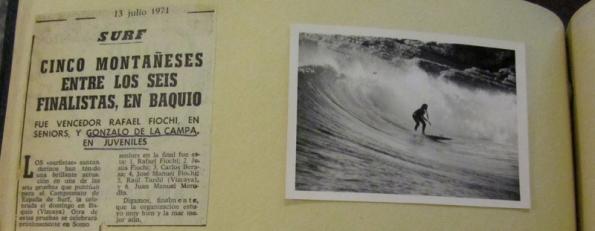 Zalo en la derecha de Santa Marina. En los primeros años del circuito nacional los cántabros dominaron.