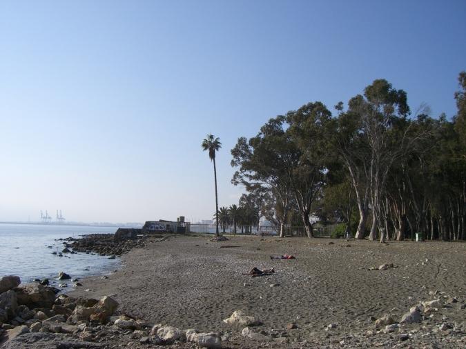 Restos del camping de los Baños del Carmen no hace mucho. Foto: Daniel Esparza