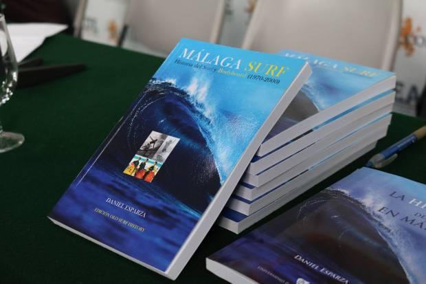 Libro Malaga Surf presentación